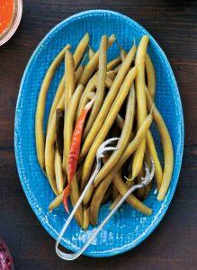 fermentierte Grüne Bohnen mit Dill