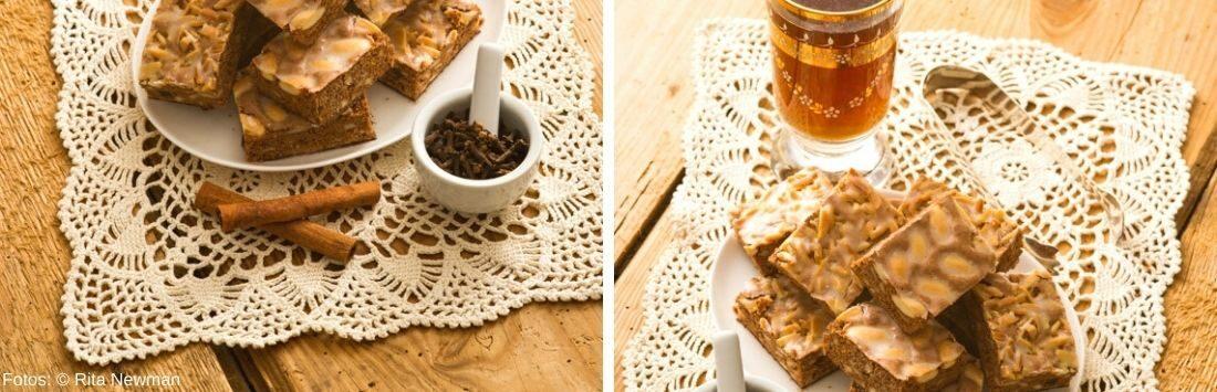 selbstgemachter Schokoladelebkuchen