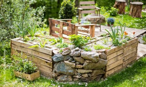 Der eigene Garten - ein kostspieliger Luxus? Von wegen! Julia Hamilton zeigt, wie du mit cleveren Tipps ganz einfach und kostensparend deine eigenen Wohlfühlgarten schaffen kannst.