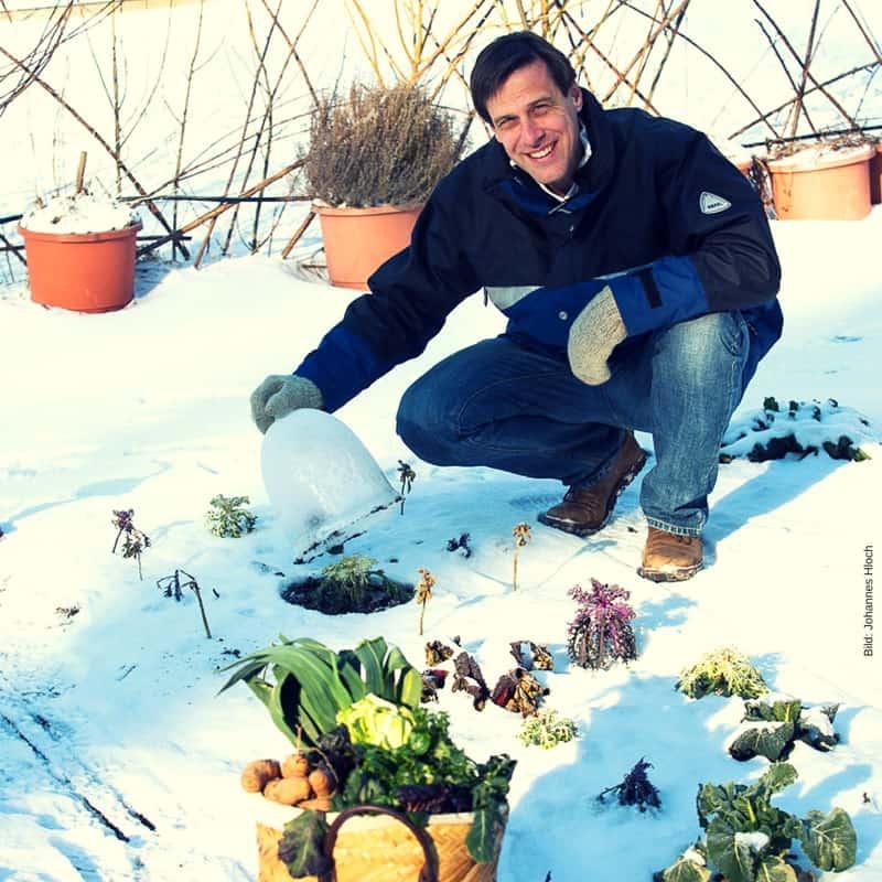 Nichts geht über frisches Grün im Winter! Foto: Johannes Hloch