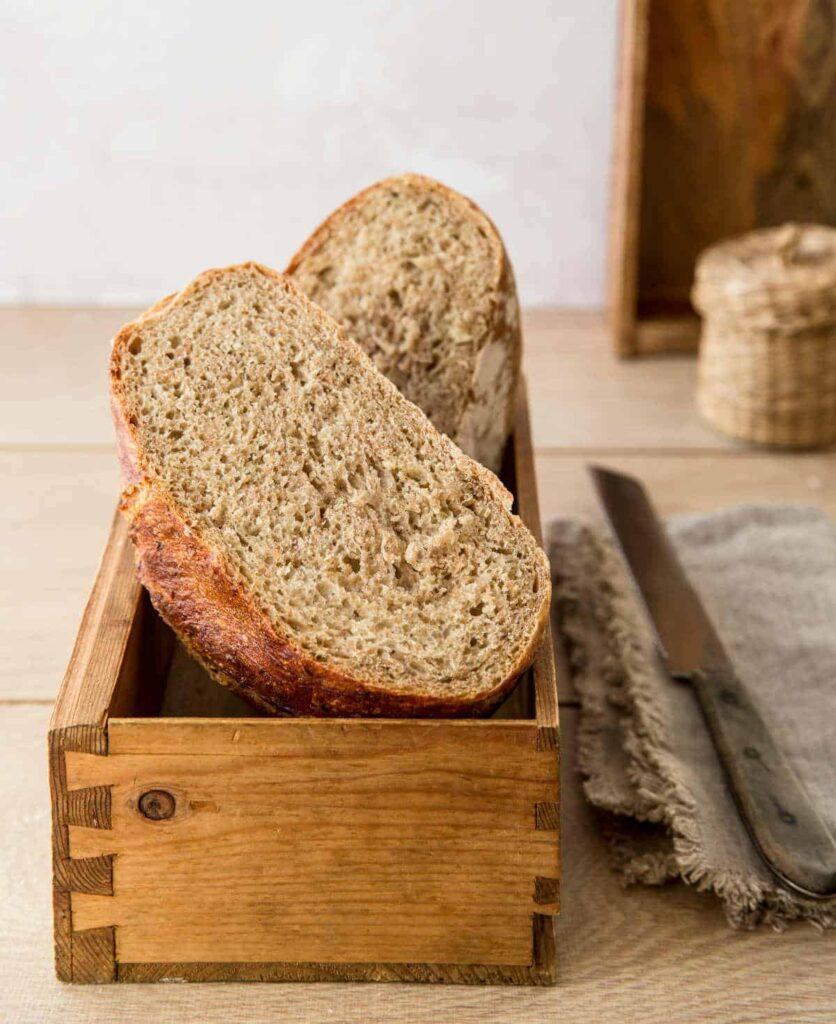 Schimmel auf Brot