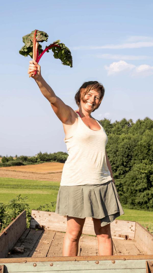 Gestalte dir deinen Permakultur Garten! Sigrid Drage und Andreas Voglgruber zeigen dir, wie es klappt. Foto. Nadja Hudovernik