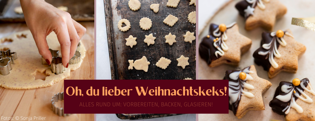 Jetzt geht's wieder los: Mit deiner Weihnachtsbäckerei!