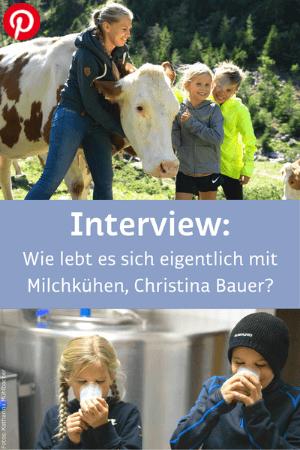 Wie lebt es sich eigentlich mit Milchkühen, Christina Bauer?