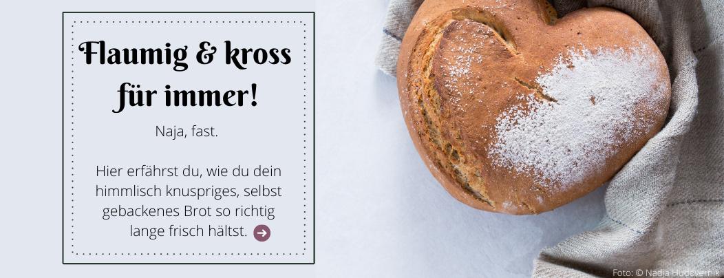 Brot richtig aufbewahren
