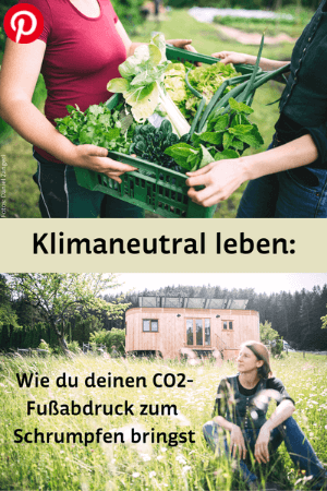 Klimaneutral leben