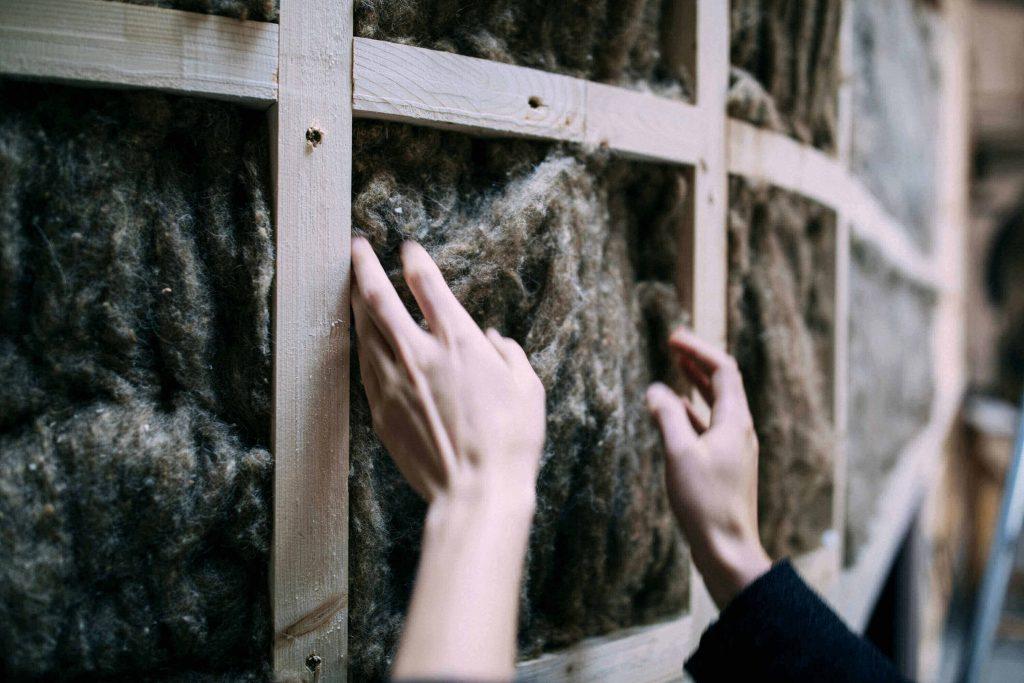 Schafwolle als nachhaltiger Dämmstoff