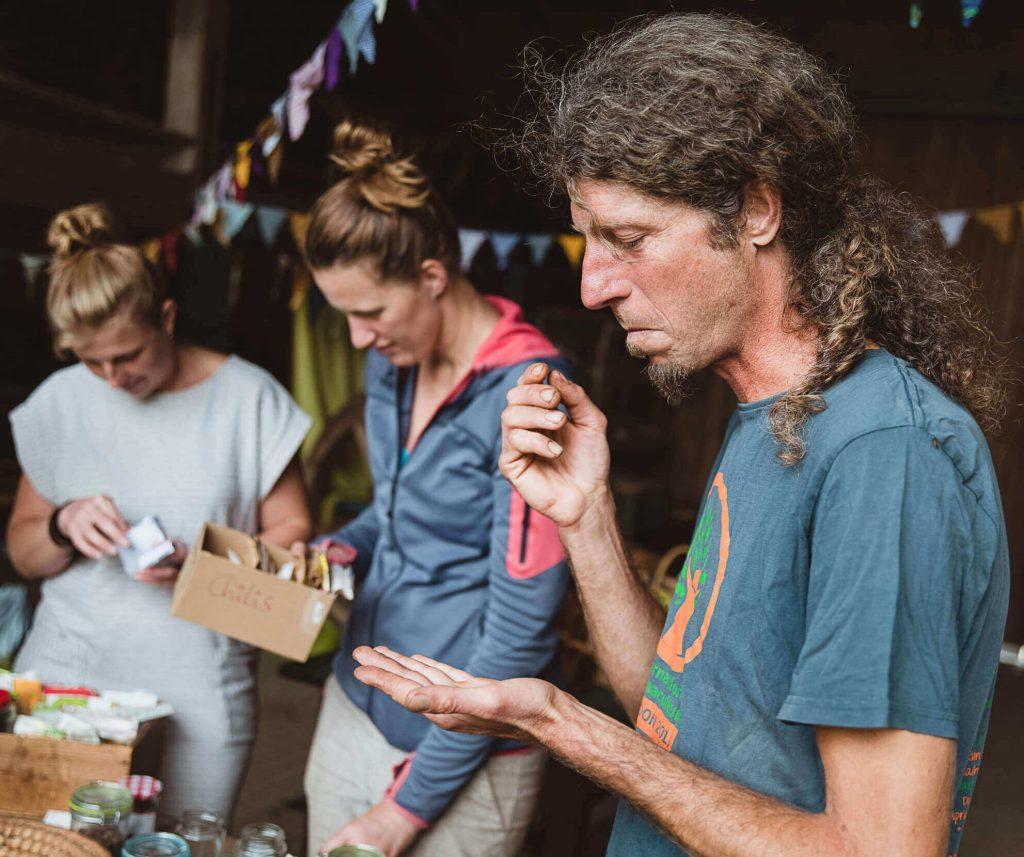 Beim Tauschfest kannst du Samen und Wissen teilen und austauschen!